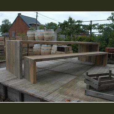 Verhuur tafel 39 u 39 in gebruikt baddingenhout 3m banken for Verhuur tafels