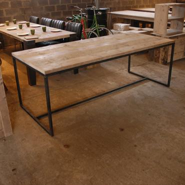 industriele tafel 'somet'   meubelen   rawcreations bvba
