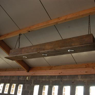 Luster in old barnwood | NEW! Verlichting | rawcreations bvba