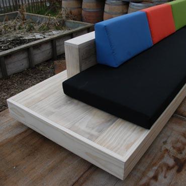 Loungeset 39 cuba 39 in accoya hout meubelen rawcreations bvba for Loungeset steigerhout zelf maken