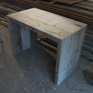 Sidetable 39 ben 39 in dik oud steigerhout indoor meubelen for Sidetable steigerhout