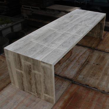Tafel 39 luca 39 in accoya hout meubelen rawcreations bvba for Tafel van steenschotten