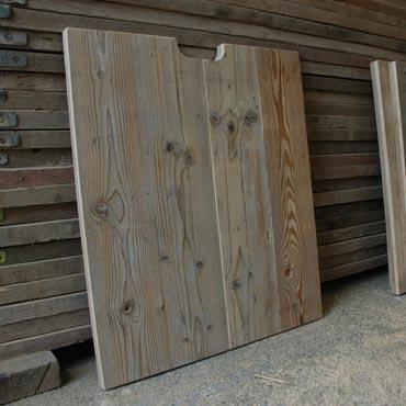 Kastdeuren maken van steigerhout