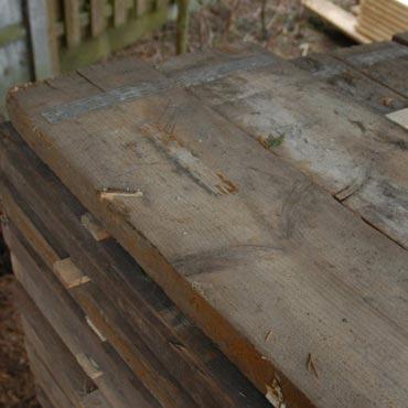 Oud steigerhout