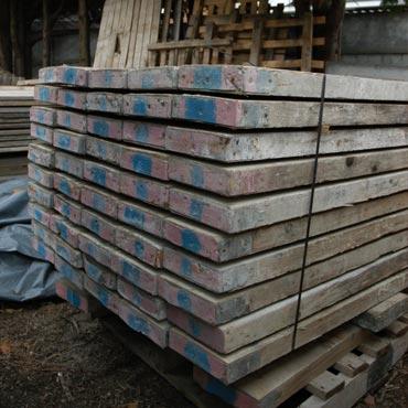Lengte steigerhouten planken