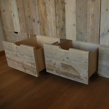 Kleerkast in gebruikt steigerhout 1