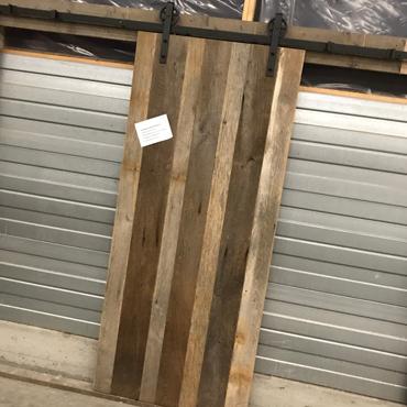 Schuifdeur in gebruikt steigerhout, old barnwood, ... 1