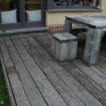 Azobe scheepsvloer oud gebruikt steigerhout steigerhout rawcreations bvba - Afbeeldingen van terrassen verwachten ...
