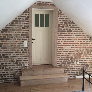 Trappen / traptreden in gebruikt steigerhout, ... 2