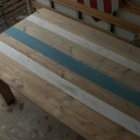 Tafel 'Mania' in gebruikt steigerhout + sloophout