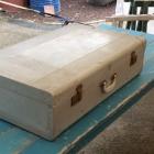 Vintage aluminium koffer