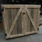Tuinkast / Opbergkast in gebruikt steigerhout