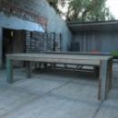 Tafel 'Slopa' in gebruikt steigerhout + sloophout