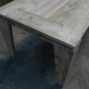 Tafel / Tuintafel Type 18B in oud steigerhout