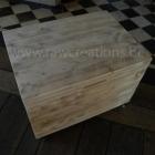 Kist in gebruikt steigerhout