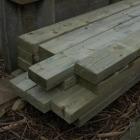 Liggers Geimpregneerd hout