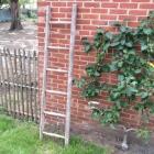Oude houten ladder 173l x 37b