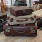 Oude reiskoffers