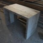 Sidetable 'Ben' in dik oud steigerhout