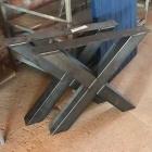 Metalen X poot (1 set)