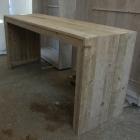 Toog tafel in oud steigerhout