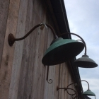 Industriele muurlamp 'fons'