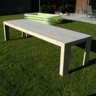 Tafel 'ewa' in accoya hout
