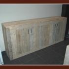 Dressoir 'Wouter' in gebruikt steigerhout