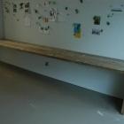 Bureau op maat in gebruikt baddingenhout