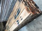 Oude eiken planken en balken GESCHAAFD