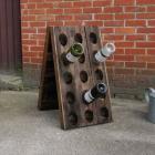 Oude champagnerekken / wijnrekken KLEIN