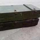 Vintage groene legerkist