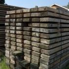 Gebruikt steigerhout dikte 5 & 5,5cm