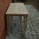 Sidetable 2 in oud steigerhout