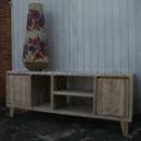 TV meubel in gebruikt steigerhout