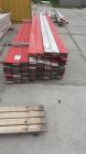 Oude veiligheidsplanken Rood / Wit