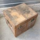 Vintage bruine koffer