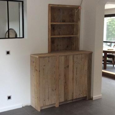 ingemaakte kast steigerhout rawcreations