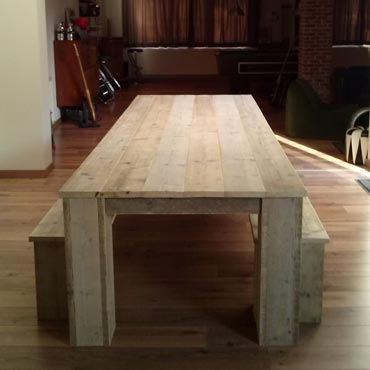 tafel bank rawcreations.be steigerhout