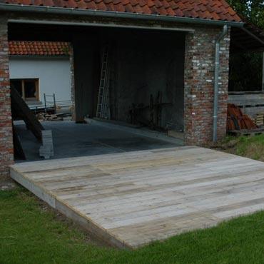 Terrassen schuttingen outdoor meubelen rawcreations bvba - Afbeeldingen van terrassen verwachten ...