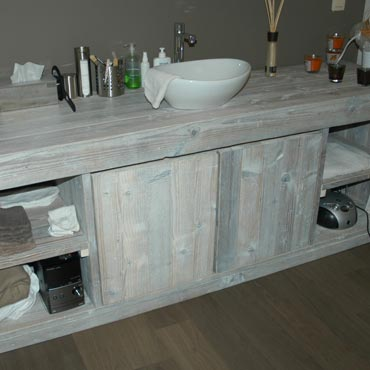 Winkelinrichting Gebruikt Steigerhout 'Pure' Rawcreations.be